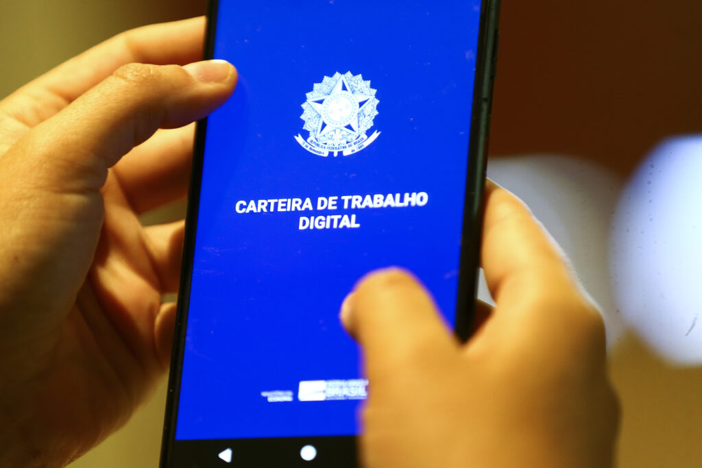 carteira digital do trabalho